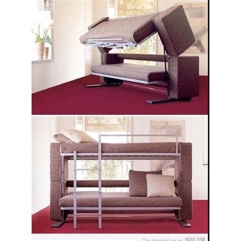 that folds into bunk beds folds out into a bunk bed for the home