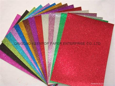 craft work paper color glitter paper for craft work and wrapping kt 003