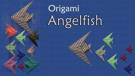 origami angelfish origami angelfish by montroll