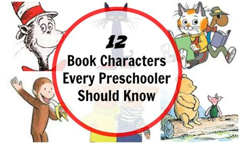 picture book characters 12 book characters for preschool children planet smarty