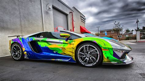 Lamborghini Car Hd Wallpapers by Lamborghini Aventador Car Color Design Hd Wallpaper