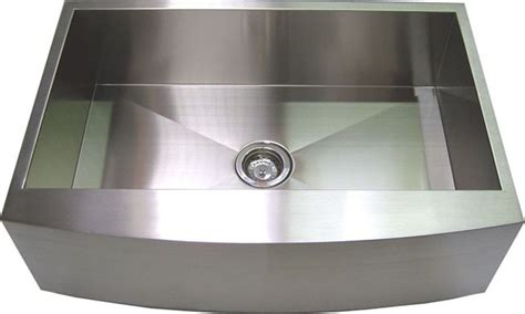 contemporary stainless steel kitchen sinks handmade curved front kitchen sink stainless steel 30