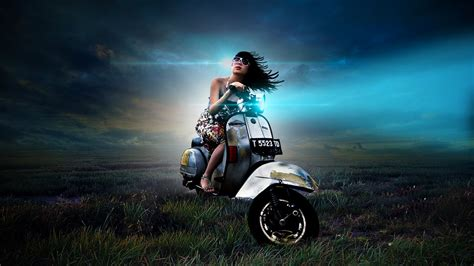 Photoshop Cc Photo Manipulation Tutorials Lighting Effects Car by Photoshop Photo Manipulation With Blue Light Effect