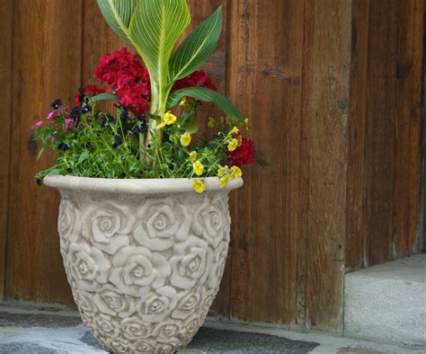 southern patio planters a container garden or planter southern patio 174