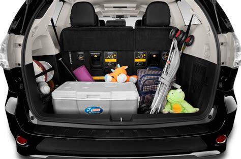 Minivan Cargo Space by Toyota Buying Guide Dealmakers Dealbreakers