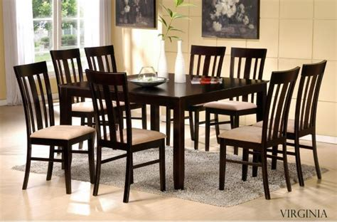set of dining table and chairs xing fu the feng shui of dining tables