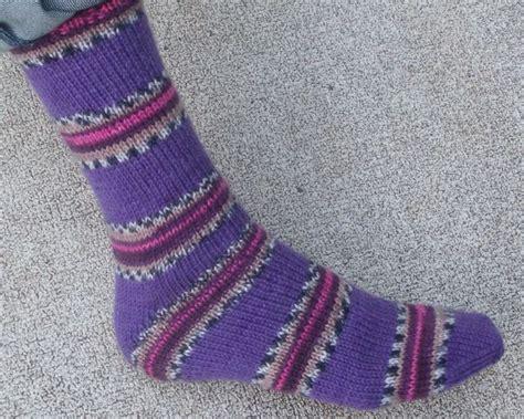 easy knit socks on two needles easy two needle socks socks free pattern