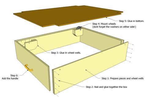 drawer plans woodworking bed storage drawer plans