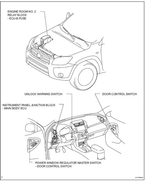 vehicle repair manual 2011 toyota rav4 instrument cluster instrument panel fuse box locations toyota rav4 2011 52 wiring diagram images wiring