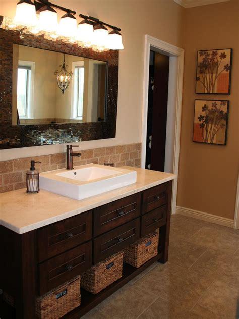 bathroom tile backsplash ideas bathroom backsplash bathroom ideas designs hgtv
