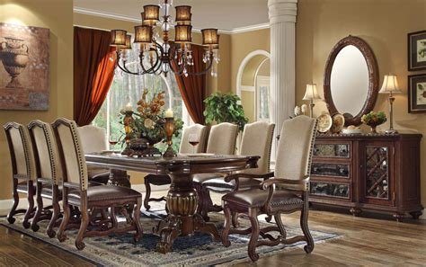 how to set dining room table formal dining room table set