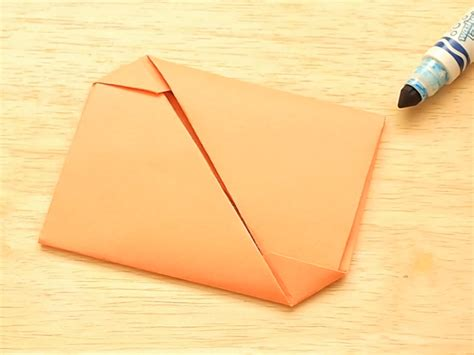 origami envelopes 2 easy ways to fold an origami envelope wikihow