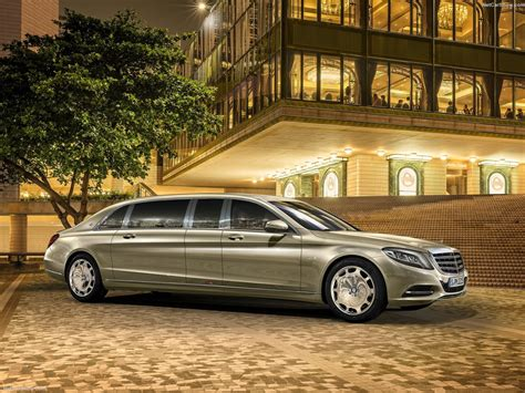Maybach Limousine by Mercedes S600 Pullman Maybach Limousine Cars Luxury