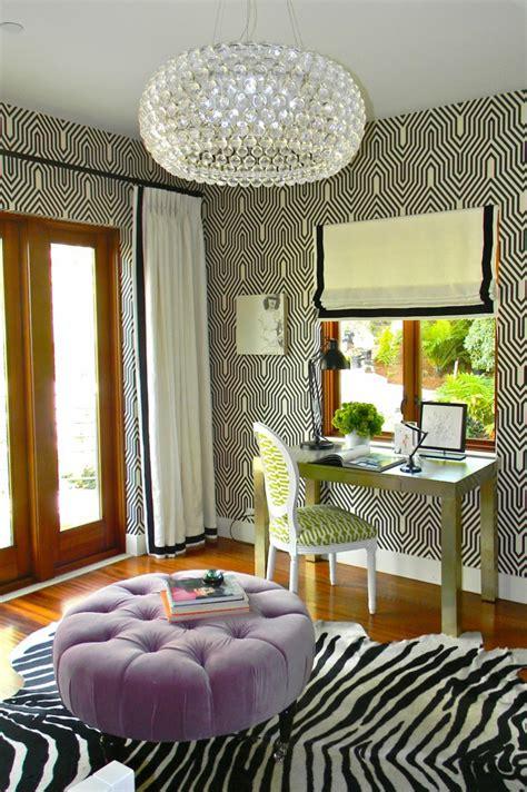 home interior prints decorating with animal print