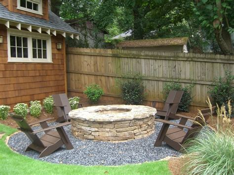 pea gravel pit pea gravel pit patio craftsman with grass top