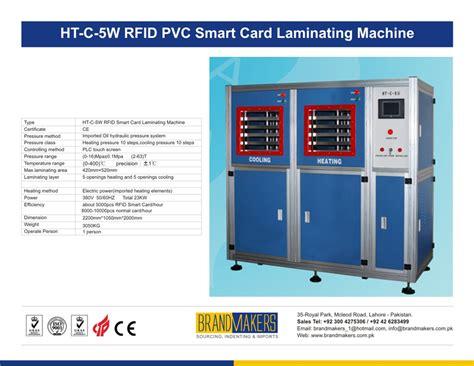 smart card machine brandmakers