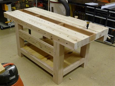 best woodworking benches roubo 21st blend workbench by woodwrangler lumberjocks