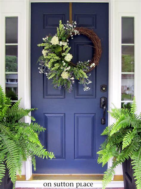 navy blue front door come on in nine nifty front doors finding silver pennies