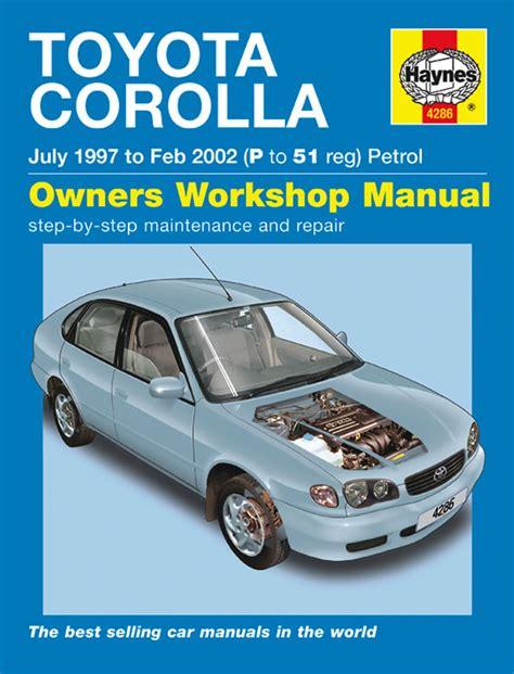 what is the best auto repair manual 1997 land rover defender regenerative braking haynes manual toyota corolla petrol july 1997 feb 2002