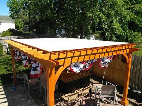 how to cover a pergola from pergola covers bbt