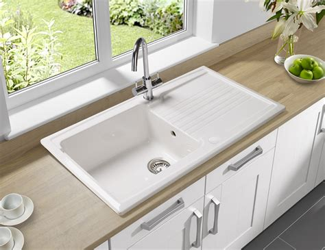 astracast equinox 1 0 bowl ceramic inset kitchen sink