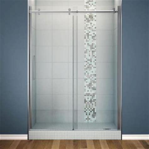 home depot shower doors sliding maax halo 60 in x 78 3 4 in semi framed sliding shower