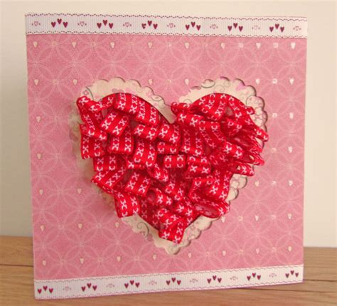 how to make a valentines card craft challenge valentines card hobbycraft