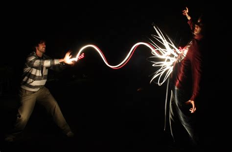 painting with light light painting on martial artist lights and