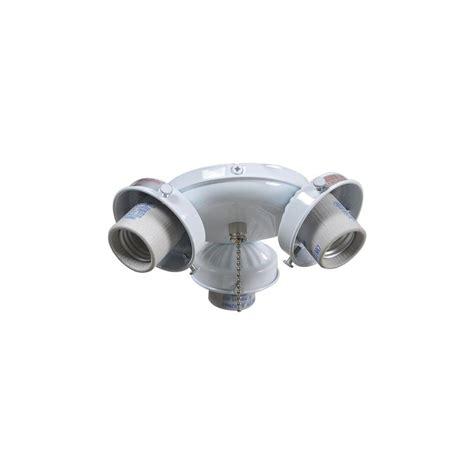 ceiling fan light kit home depot brookhurst 52 in white ceiling fan replacement light kit