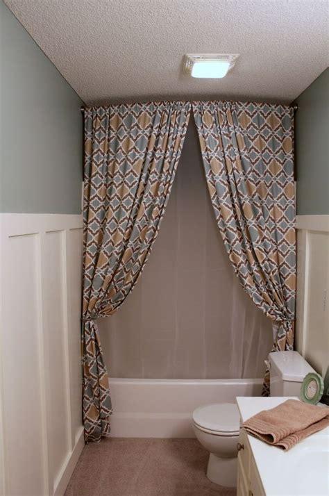 bathroom ideas with shower curtains bathroom interesting curved shower curtain rod decor with bathtub for traditonal bathroom decor