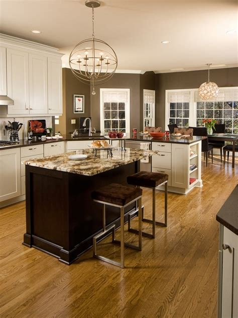 paint colors for the kitchen with white cabinets white kitchen cabinets color with chocolate brown wall