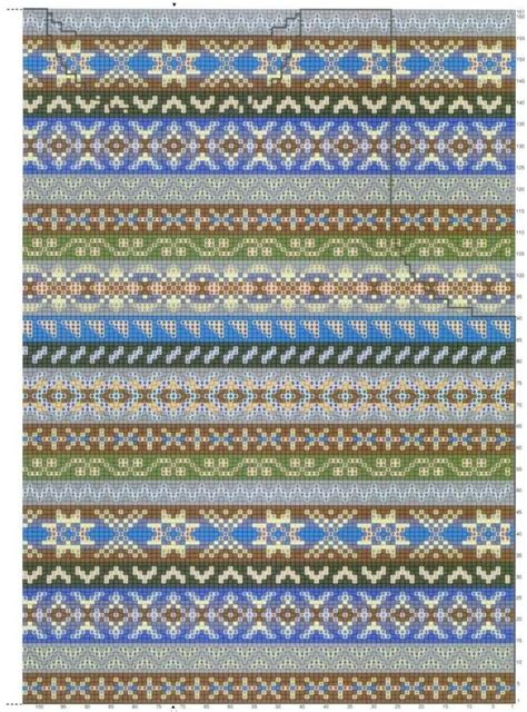 how to fair isle knit fair isle strikkediagram