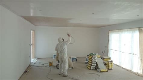 spray painting new plaster interior home paint gun home decor interior exterior