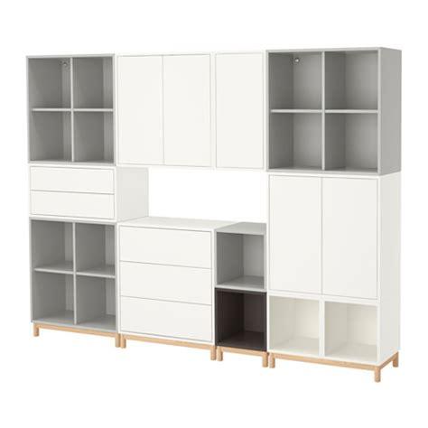 Bathroom Curtain Ideas eket cabinet combination with legs white light grey dark