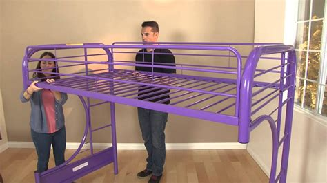 metal futon bunk bed assembly eclipse futon bunk bed assembly