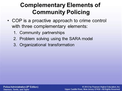 community policing partnerships for problem solving administration structures processes and behavior