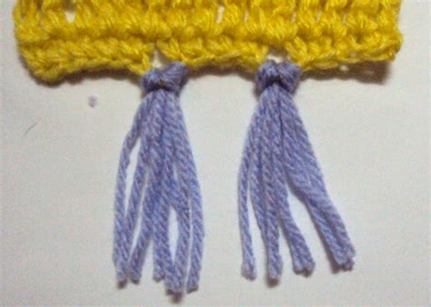 how to add tassels to knitted scarf how to make crochet scarf fringe