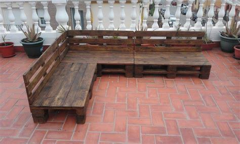 wooden pallet patio furniture pallet patio terrace sectional furniture pallet