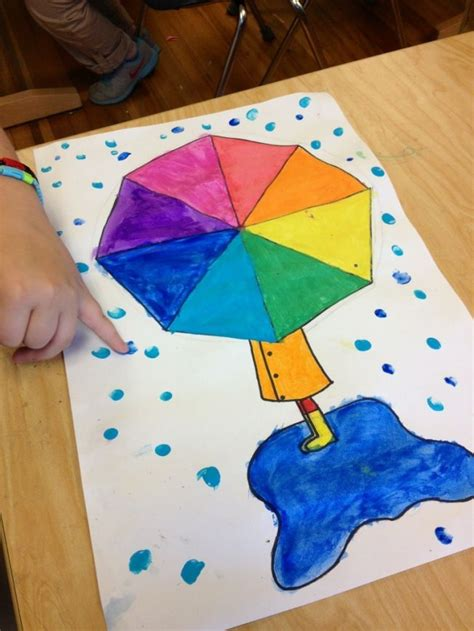 umbrella craft ideas for 78 best images about weather activities for on