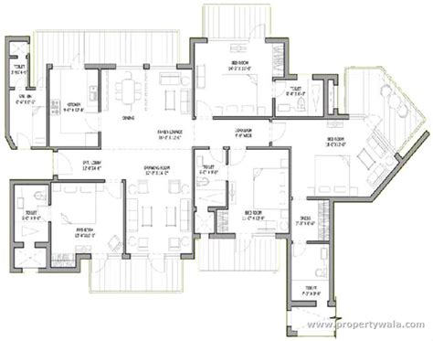 4 Bedroom Cabin Plans bestech park view spa next sector 67 gurgaon