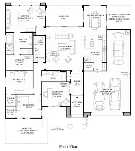 toll brothers floor plans toll brothers at blackstone the costellana home design
