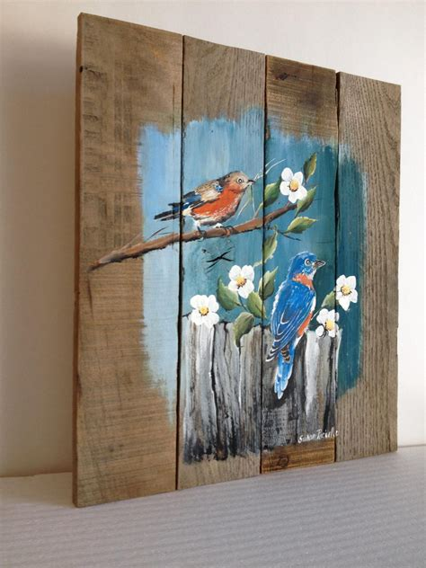 how to distress acrylic paint on canvas pallet painting distressed wood pallet customizable