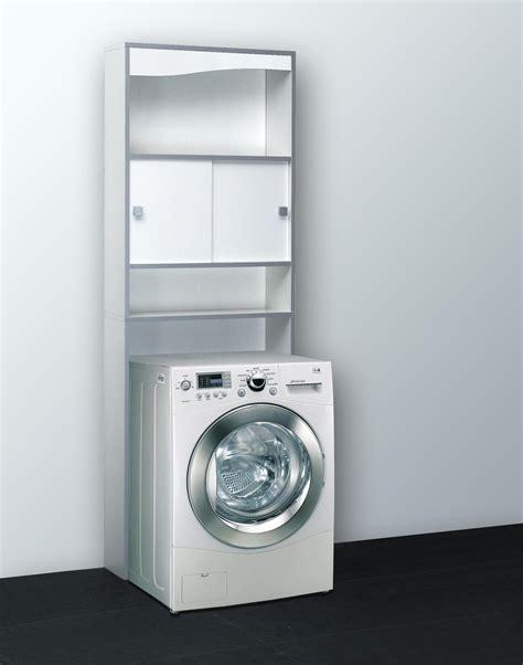 meuble de rangement de salle de bain contemporain coloris blanc erman soldes rangement promos