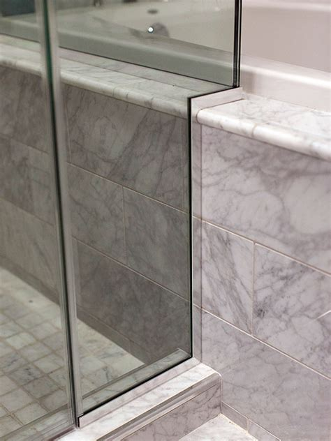 shower door u channel u channel precision glass shower