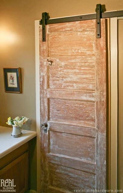 barn bathroom door barn door hardware rustic bathroom san luis obispo