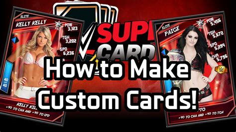 how to make personalized cards how to make custom supercard cards photoshop