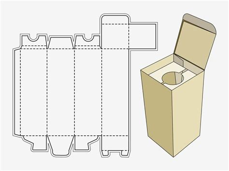 paper boxes templates wine box template things that