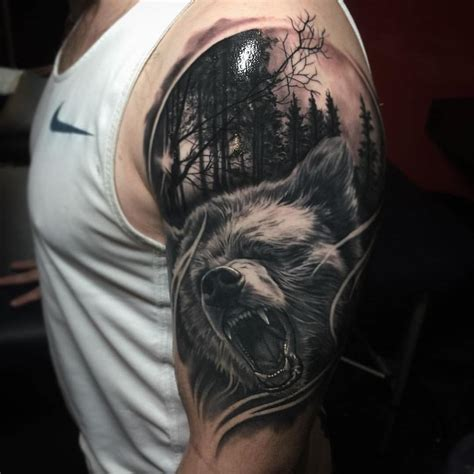 best wolf tattoo photo 1 f pinterest tattoo photos