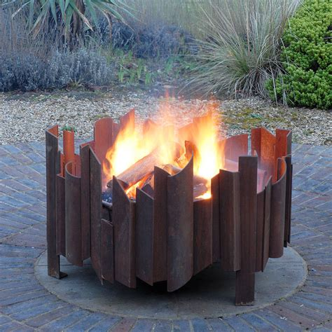 welded pit magma welded steel pit by magma firepits