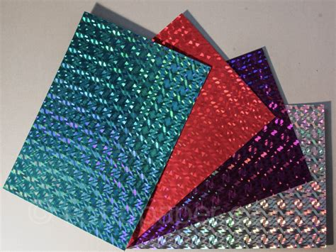 how to make holographic cards holographic craft card sohopaper co uk